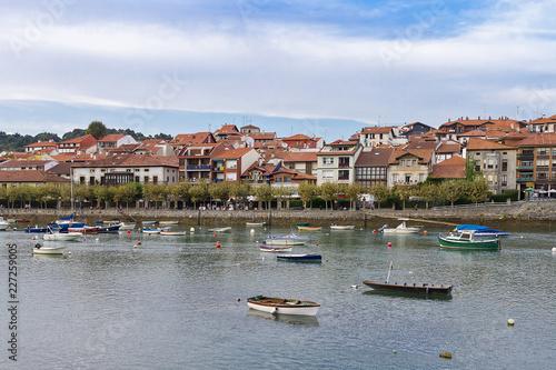 Plentzia town in Vizcaya