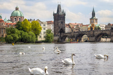 View To The Charles Bridge And...
