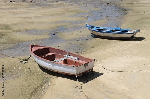 Photo  small boats