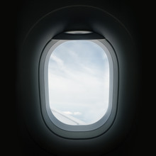 Looking Through An Airplane Wi...