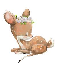 Little Cute Watercolor Lovely ...