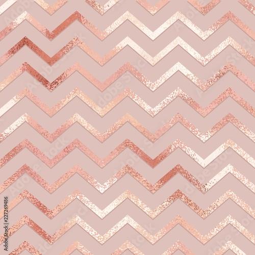 Fotomural Rose gold. Elegant vector pattern