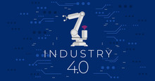 Industry 4.0 Concept Vector Il...
