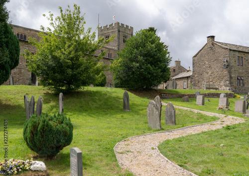 Fotografie, Obraz  Dent Church Yorkshire