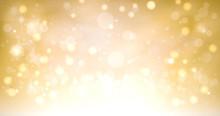 Golden Shimmering And Sparklin...