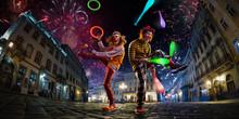 Night Street Circus Performanc...