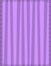 Striped Purple Background With...