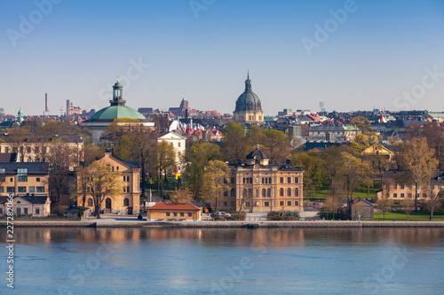 Cityscape of old Stockholm city, Sweden