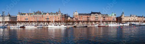 Panoramic view of Stockholm, Sweden