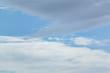 sky blue background.