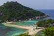 Naturlandschaft auf Nang Yuan Island, Thailand