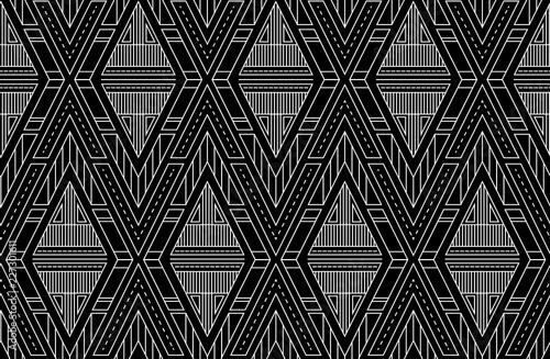 geometryczne-trojkaty-wektor-wzor-art-deco-czarno-bialy-ornament-wzor-na-tekstylia-tkaniny-papier-pakowy-i-twoj-projekt