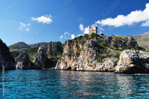 Fotografia  I faraglioni di Scopello, visti dal mare