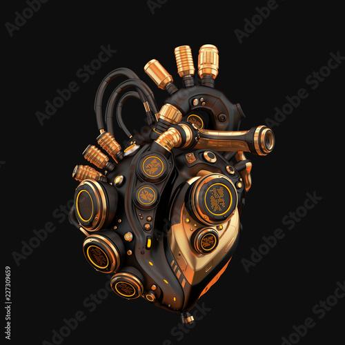 Stampa su Tela Robotic heart