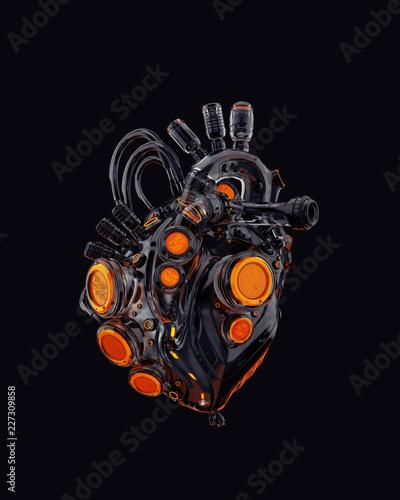 Canvas-taulu Robotic heart