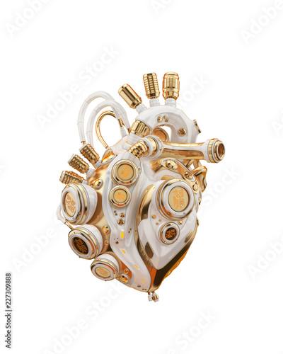Canvas Print Robotic heart