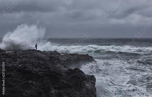 Photo Taking chances on the Oregon Coast