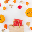 Promotion template autumn fall thanksgiving sale