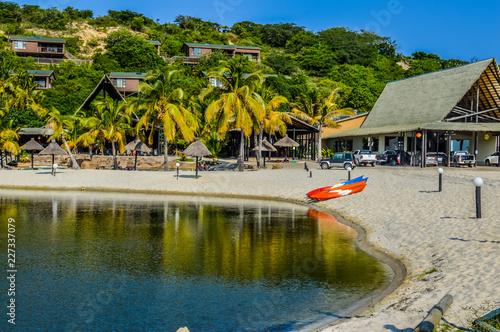 Fényképezés  Bilene Beach Lagoon in Paraia Do Bilene , Mozambique