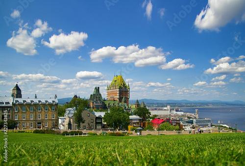 In de dag Centraal-Amerika Landen Quebec City Canada