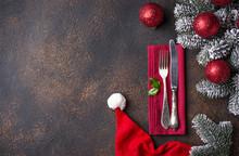 Christmas Or New Year Festive ...