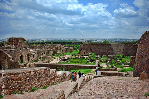 GOLCONDA FORT VIEW
