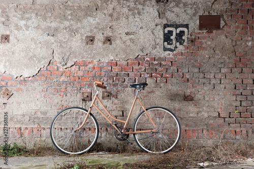 vintage bicycle wall