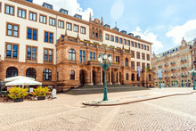 Town Hall In Wiesbaden