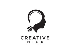 Creative Mind, Head With Negat...