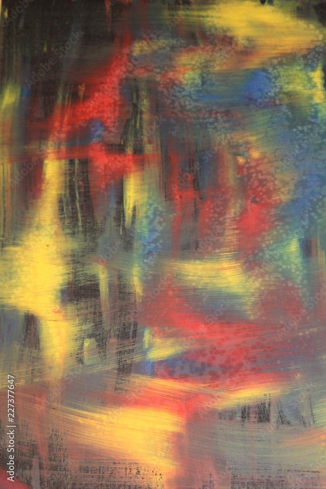 silicone acrylic painting