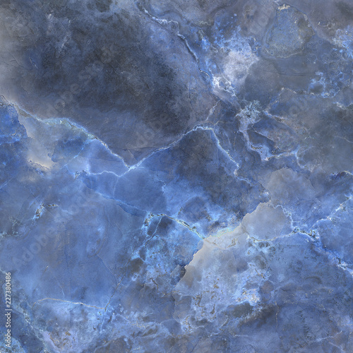 Luxury Blue Marble Slab Closeup Onyx Marble Closeup Luxury