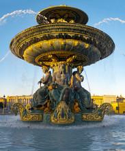 Fountain At Place De La Conco...