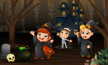 Happy Kids Celebration Hallowe...