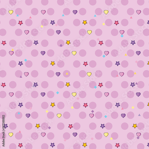 Foto op Canvas Bloemen Cute background pattern