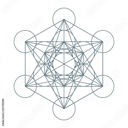 Flower Of Life Sacred Geometry Symbol Of Harmony And Balance