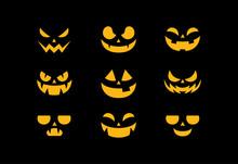 Set Pumpkins For Halloween