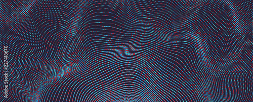 Fototapeta Abstract background with color circles. Vector illustration.