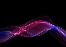 抽象的な曲線のイメー...