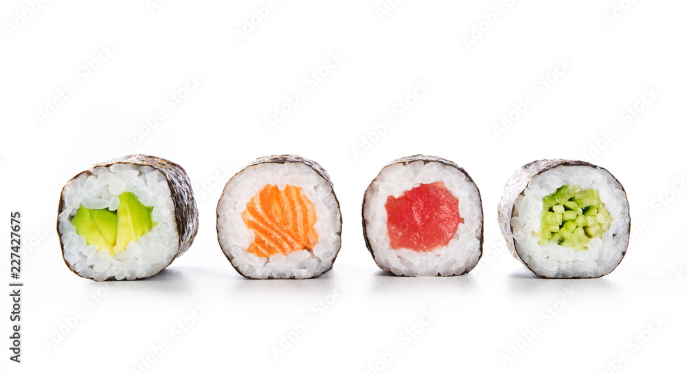 Fototapety, obrazy: Maki sushi food