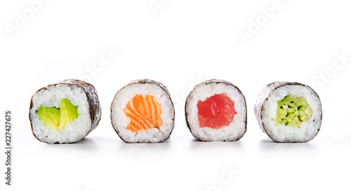 Papiers peints Sushi bar Maki sushi food
