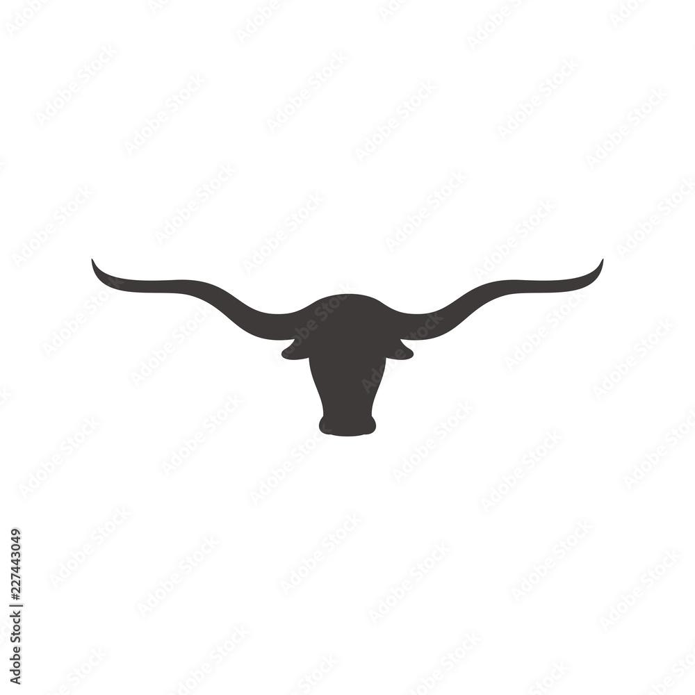 Fototapeta Long horn vector