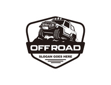 Off Road Car Logo Template