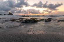 Bassets Cove Cornwall England Uk Near Portreath