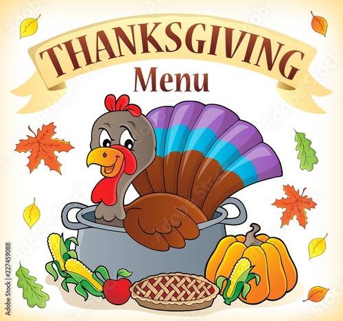Thanksgiving menu topic image 1