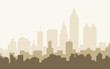 Atlanta Morning Skyline