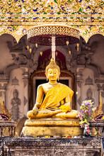 Wat Ho Tham Golden Buddha