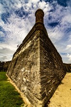 Fort Walls In St. Augustine, C...