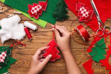 Making Of Handmade Christmas T...