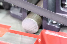 Steel Bar Cutting By Band Saw ...