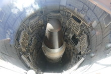 American Minuteman Missile In Launch Silo